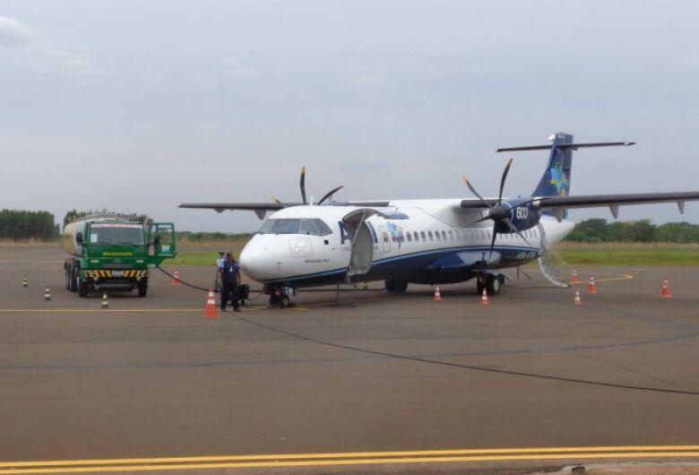 Azul retoma voos de segunda a sexta em Dourados