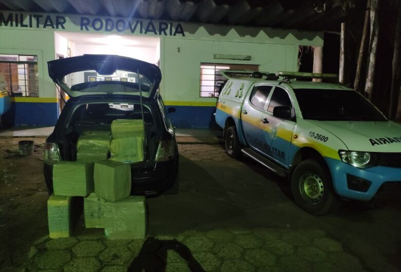 Polícia apreende 268 kg de maconha que seria levada para Campo Grande