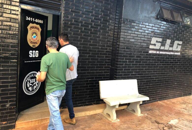 Estelionatário que aplicou vários golpes em Dourados é preso pelo SIG