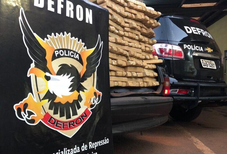 Defron apreende 141 kg de droga em rodovia de MS