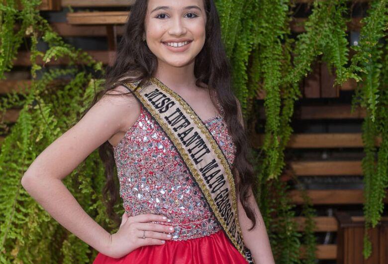 Criança de Dourados representa o estado no Miss Brasil em Curitiba