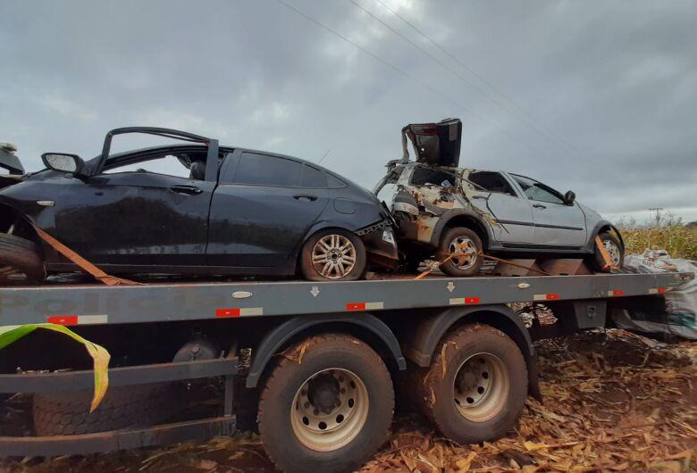 Homem morre após acidente com carro 'recheado' de cigarro paraguaio