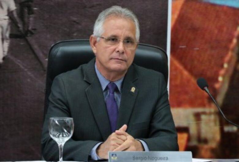 Sergio Nogueira apresenta as emendas de seu mandato