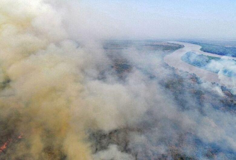 Governo pede apoio das Forças Armadas para combater incêndios no Pantanal