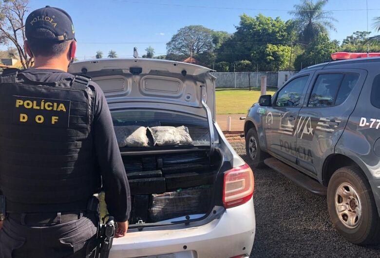 Operação do DOF no final de semana resulta em prisões e apreensões de veículos e drogas