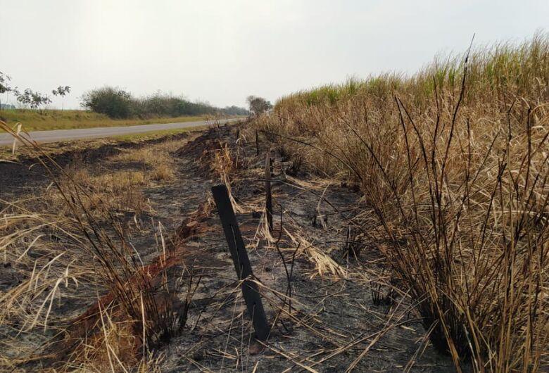 PMA de Dourados autua campo-grandense em R$ 132 mil por incêndio em sua lavoura de cana