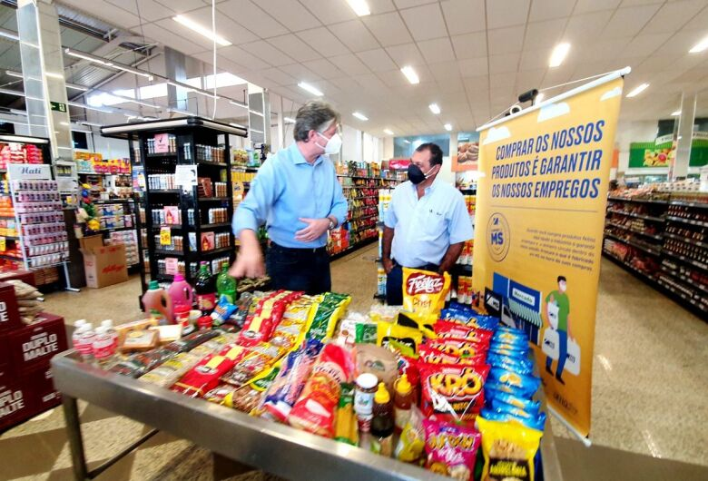 Compre de MS: produtos da indústria local ganham destaque nas prateleiras