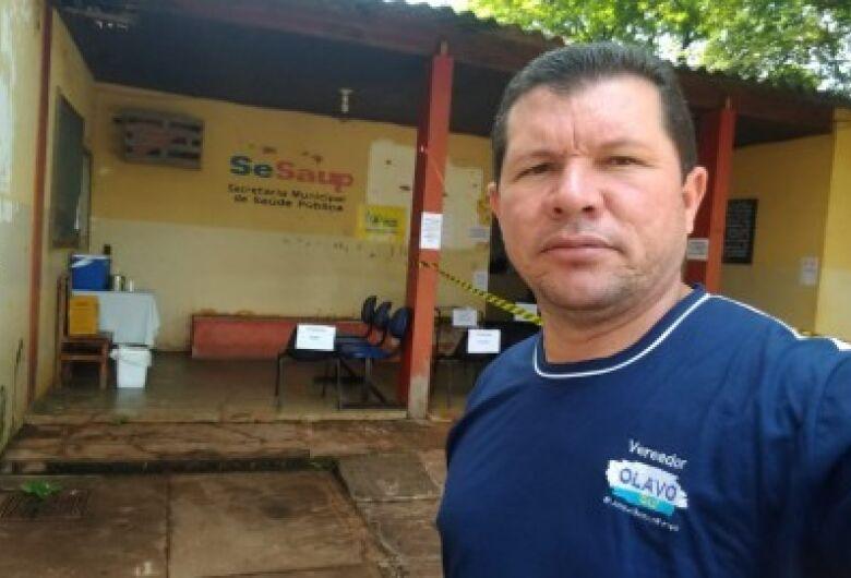 Olavo Sul vai acionar MP por conta de reforma no posto da saúde Vila São Pedro