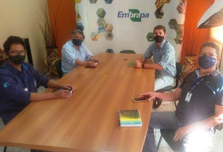 Secretário de Agricultura Familiar discute as ações da Tecnofam 2021 com diretores da Embrapa