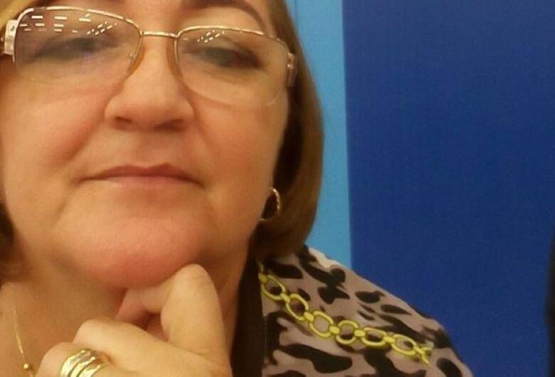 Vice-prefeita de Inocência morre vítima de Covid-19 aos 58 anos