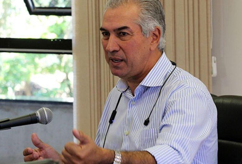 Governador Reinaldo Azambuja testa positivo para Covid-19