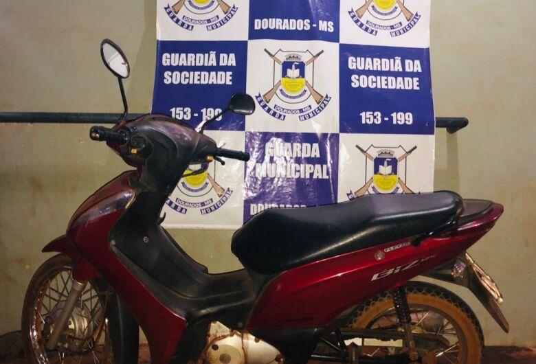 Biz furtada é recuperada em barreira sanitária pela GM