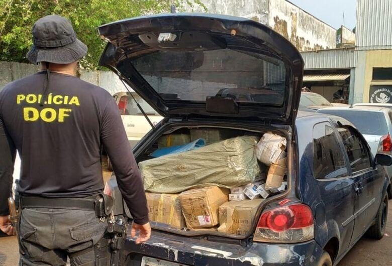DOF apreende carros com mercadorias contrabandeadas do PY