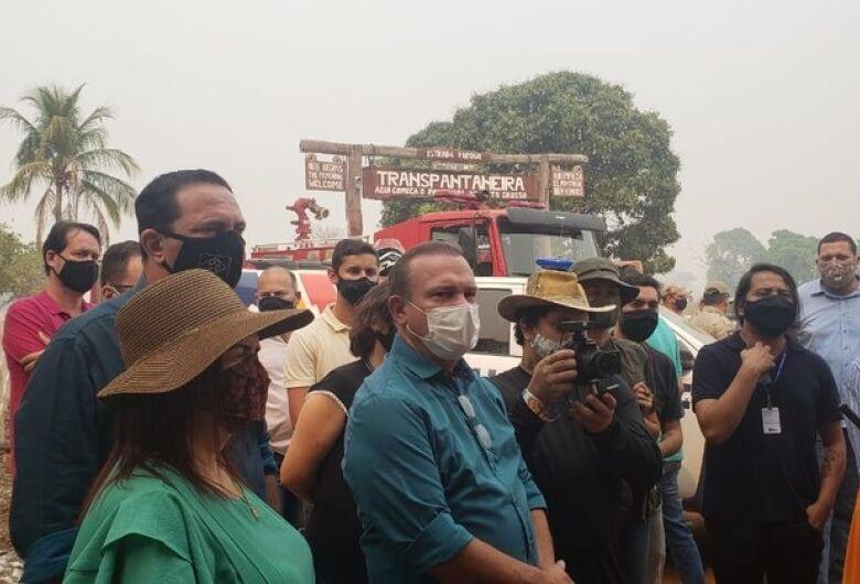 Senadores cobram participação do governo em defesa do Pantanal