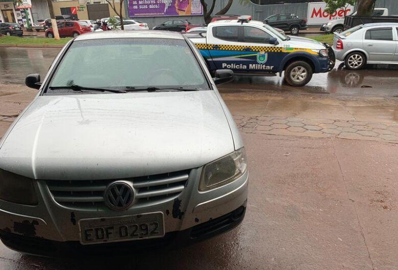 Polícia recupera carro tomado em golpe do falso deposito em Dourados