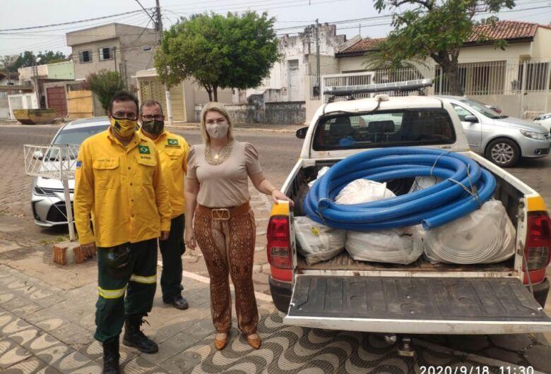 Materiais para combater fogo são adquiridos com recursos repassados pelo MPE