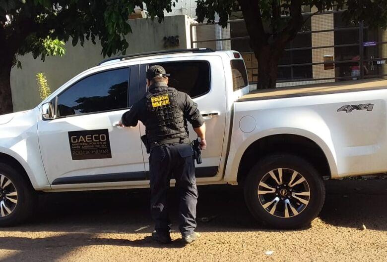 Gaeco realiza operação e alvo é empresário que tem contrato com prefeitura