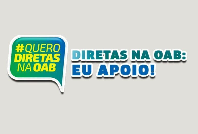 Movimento pelas eleições Diretas para Presidência da OAB Nacional ganha força