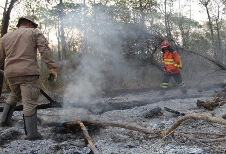 Governo reduz focos de incêndio no Pantanal de MS e controla fogo no Parque Estadual do Taquari