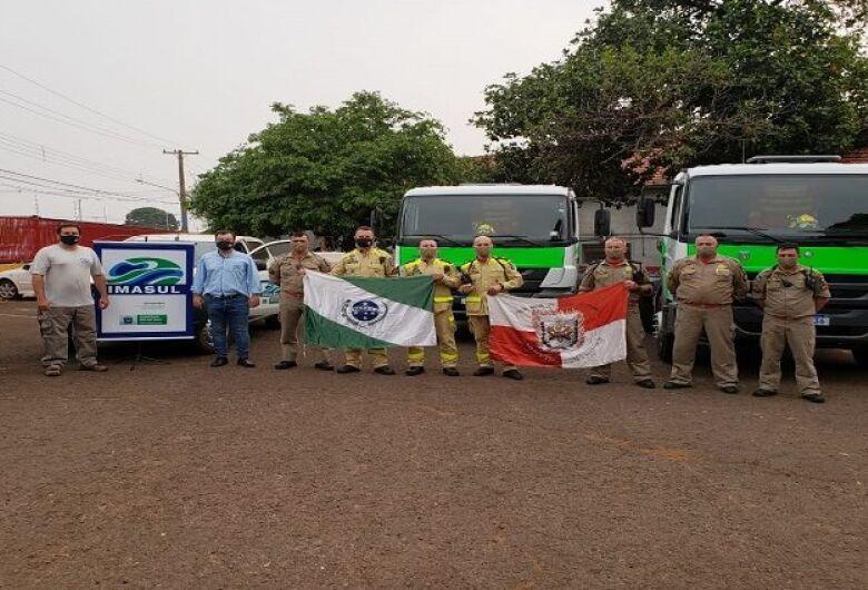 Governo envia equipamentos de combate a incêndio e caminhões-pipa para Costa Rica e Corumbá
