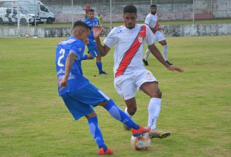 Aquidauanense marca dois contra e perde para Real Noroeste no Brasileiro Série D