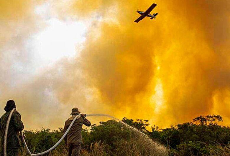 Projeto prevê uso de aviação agrícola no combate a incêndio florestal