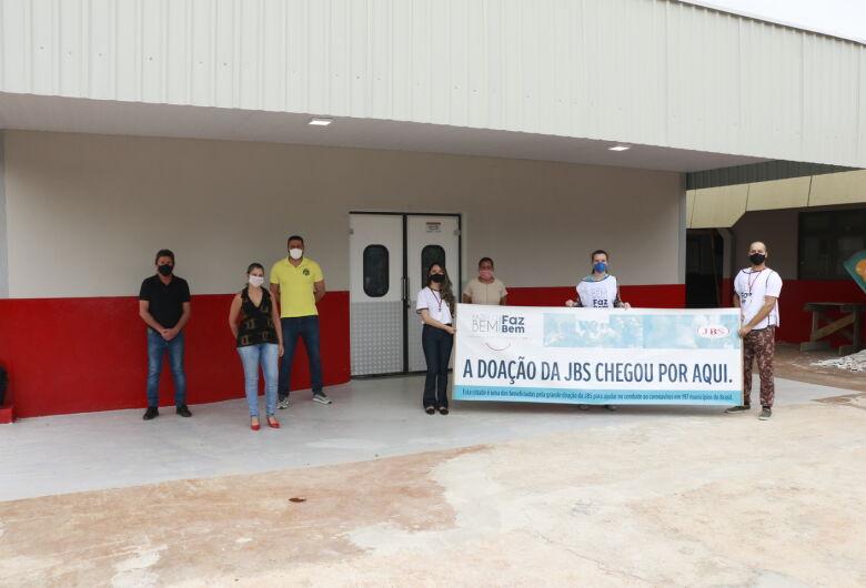 JBS entrega obra de expansão do PAM