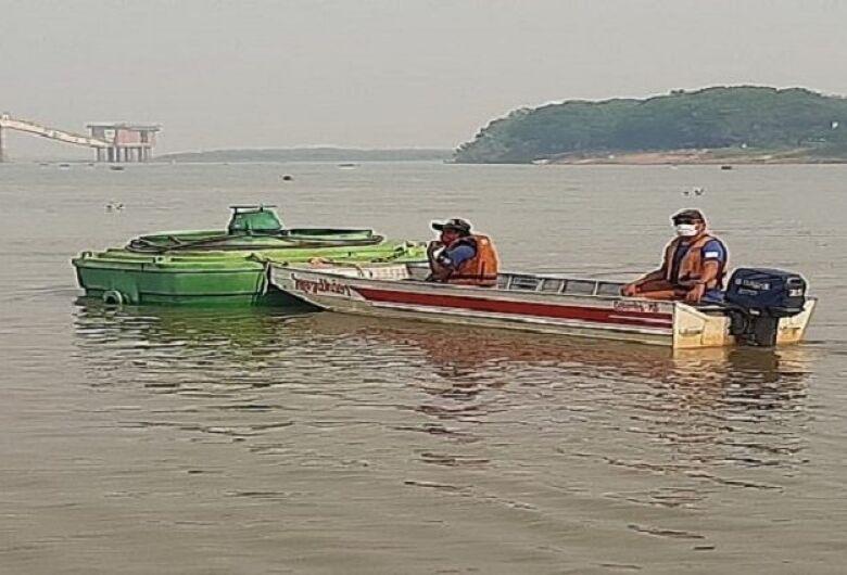 Sanesul ativará bombas flutuantes neste domingo em Corumbá para garantir abastecimento de água