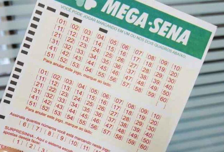 Mega-sena acumula e sorteia R$ 43 milhões nesta quarta
