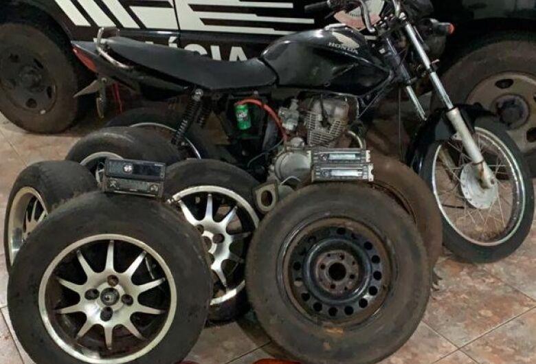 Polícia identifica grupo que praticava furtos em Detran