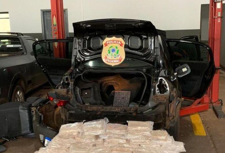 Mecânico é preso pela PF com cocaína avaliada em R$ 1 milhão