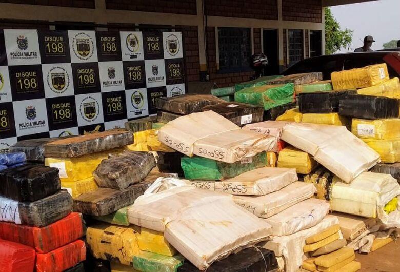 Polícia apreende mais de 4 toneladas de drogas em Dourados