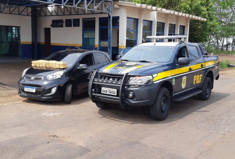 30 kg de cocaína é apreendido pela PRF na BR-376