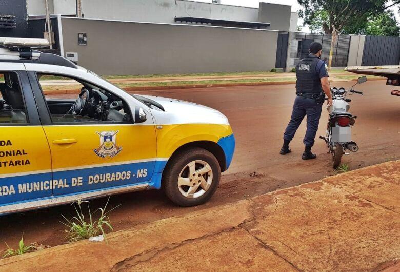 GM faz apreensão histórica ao apreender moto com R$ 400 mil em multas