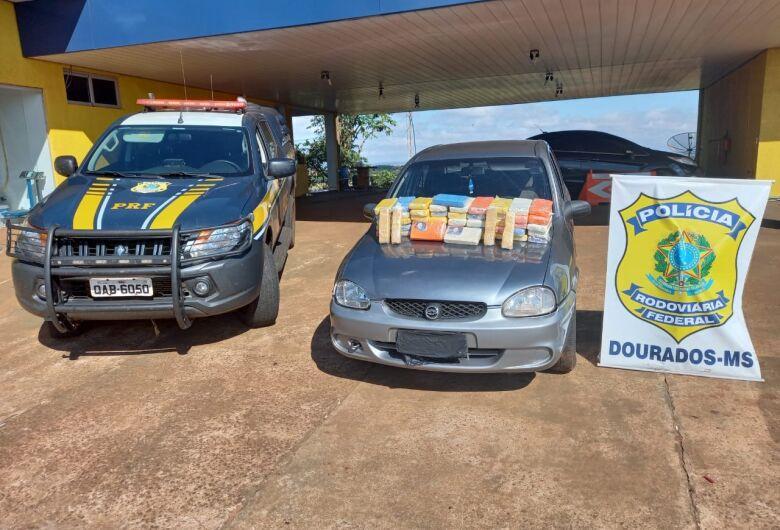 Douradense é preso com 52kg de cocaína