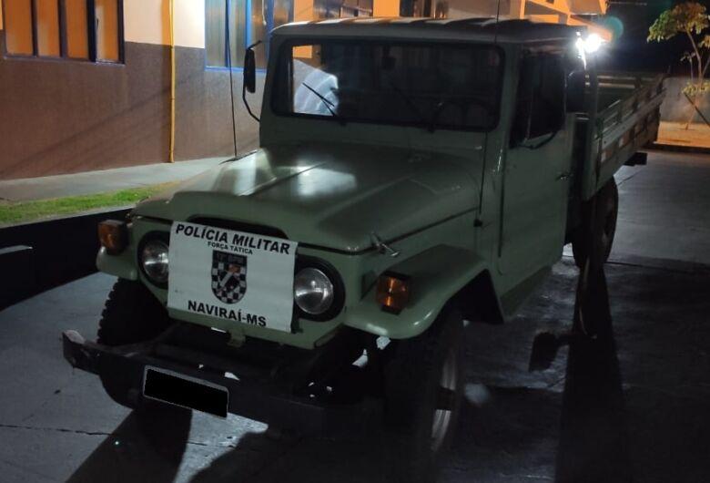 Polícia recupera veículo e prende autor de furto em Naviraí