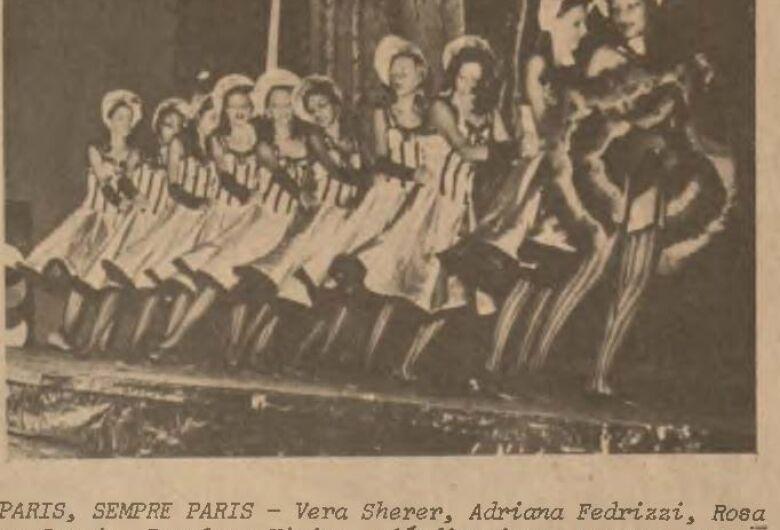 Festival de Ballet também  marcou época em Dourados