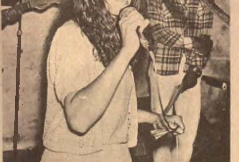 Célia Cristina venceu o 2º Fempop em 1979