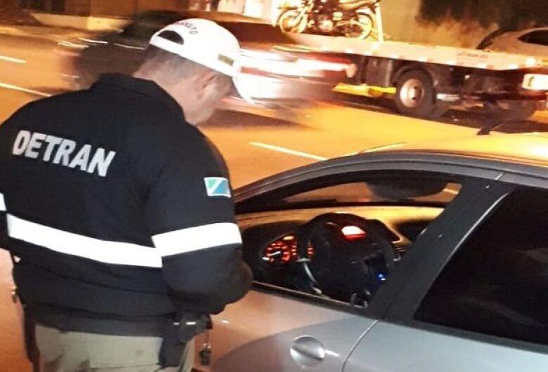 Em nove meses, mais de 8 mil são flagrados dirigindo sem habilitação no Estado