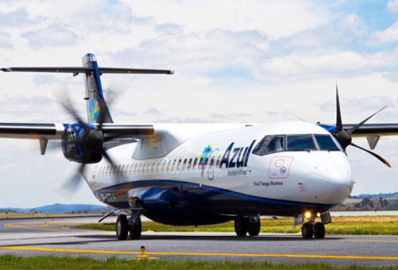 Azul volta a operar em Bonito e Corumbá a partir de dezembro