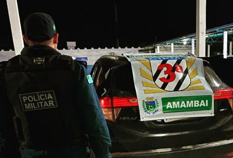 Polícia Militar recupera veículo e prende homem por receptação em Amambai
