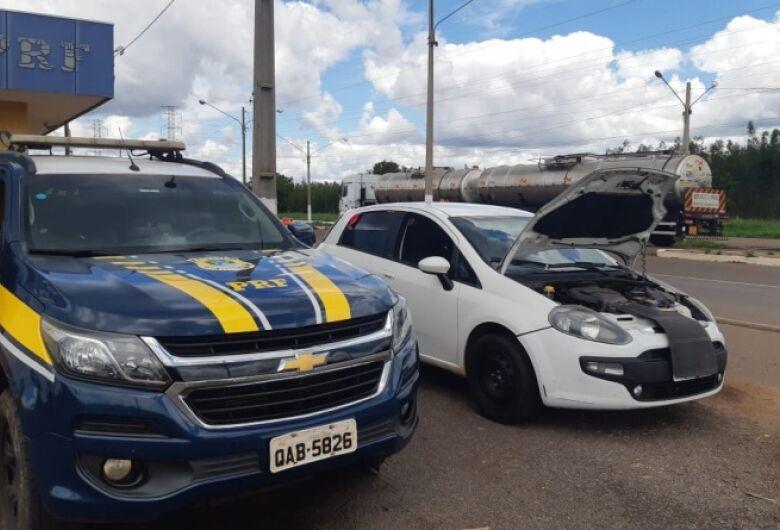 PRF recupera em Três Lagoas veículo roubado há cinco anos