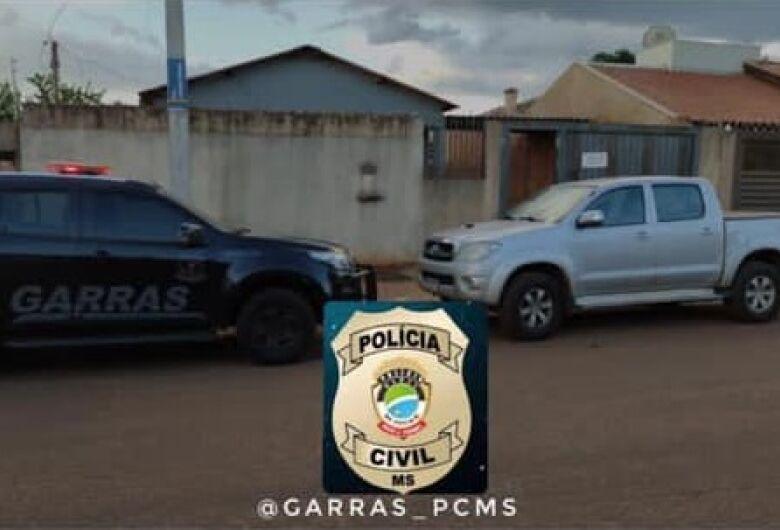 Camionete furtada é recuperada pela Polícia Civil
