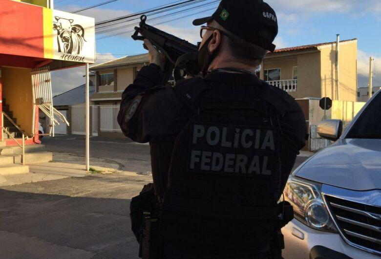 PF deflagra operação contra lavagem de dinheiro do tráfico de drogas