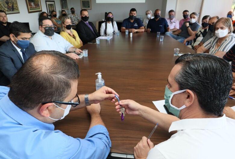 Equipes iniciam transição de mandato na prefeitura de Dourados