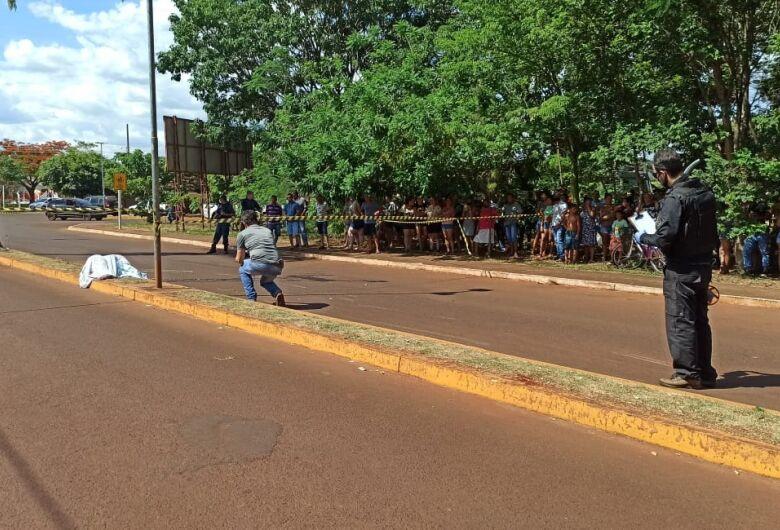 Jovem morre em acidente entre motos na cidade de Rio Brilhante