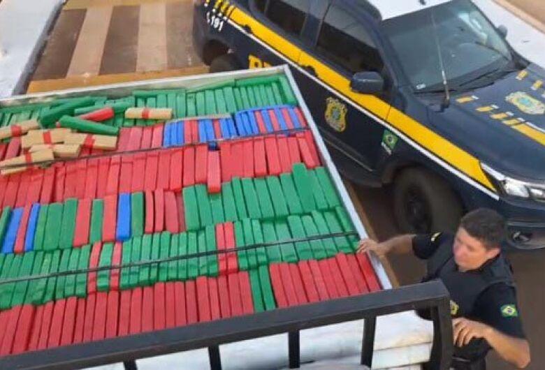 PRF apreende mais de 3,5 toneladas de maconha em Guia Lopes da Laguna