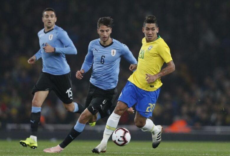 Brasil enfrenta o Uruguai hoje pelas Eliminatórias para a Copa do Mundo de 2022