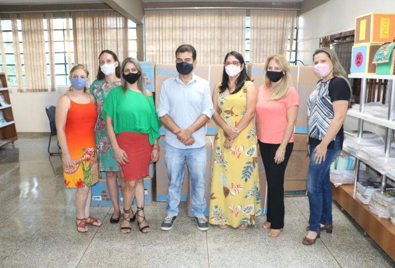 Emenda de Marçal garante aparelhos de ar-condicionado para escola