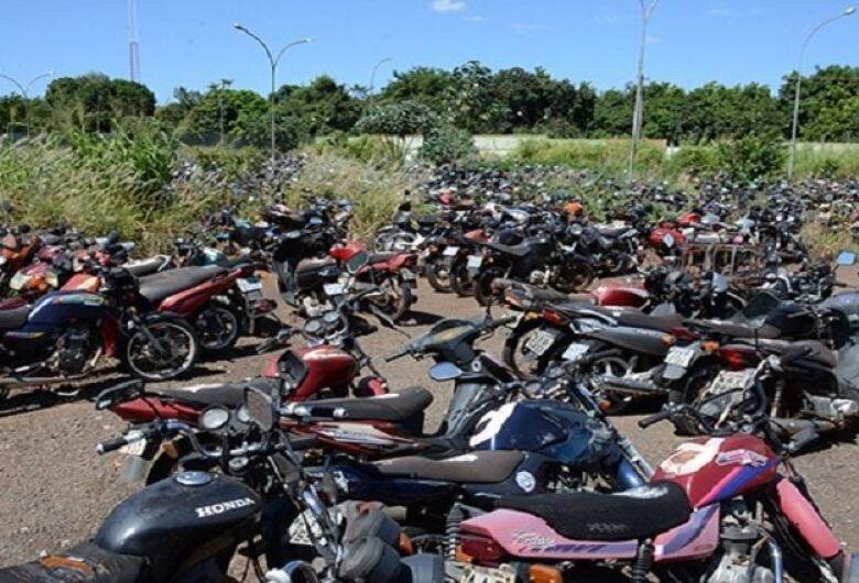Detran-MS abre três leilões com mais de 700 motocicletas em dezembro